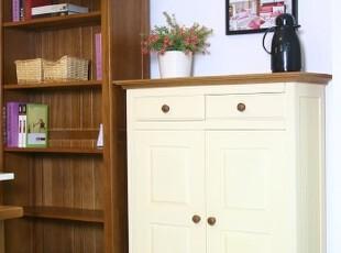 地中海风格实木家具 鞋柜 门厅柜 收纳柜 玄关柜,收纳柜,