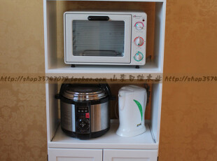 厨房电器柜/微锅炉架/电烤箱储物柜【出口日本实木家具】,收纳柜,