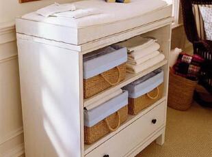美克美家探戈美式实木储物柜全实木家具定制 CP-MJTG-BG-P03,收纳柜,