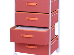 包邮 宜家风格|四层抽屉柜衣服收纳柜 床头储物柜 内衣柜子收纳,收纳柜,