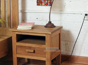 【简意】外贸出口欧洲原单/实木家具/橡木柞木/床头柜,收纳柜,