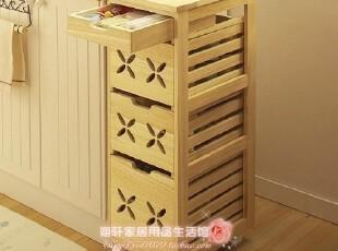 【特价精品】日本实木家具 餐边柜 桃芯菜柜 碗筷柜 厨房柜,收纳柜,