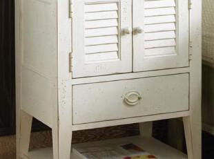 (仿FFDM家具DNS017)乡村式床头柜/美式床头柜/美式家具,收纳柜,