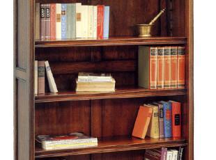 皇家橡树 全橡木实木书柜 开放式书架 欧美家具原单书柜,收纳柜,
