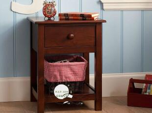 卧室 实木 家具 肯德 床头柜 美式 大气 气质 美克美家 m036,收纳柜,
