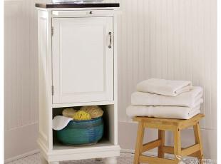 艾米尼奥实木家具浴室系列 地中海风格 储物 白色浴室柜 Y0175,收纳柜,