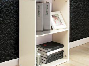 Sunmake 新美家具 时尚两格书柜/简易收纳柜/简约储物柜 M59 两色,收纳柜,