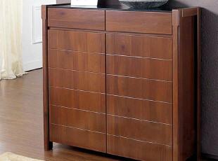 【新柜尔鞋柜】 宜家 客厅品牌 隔断玄关 柚木色 鞋柜ES-709/708,收纳柜,