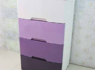 日式渐变ABS塑料抽屉柜儿童特大号收纳柜整理柜储物柜子木质天板,收纳柜,