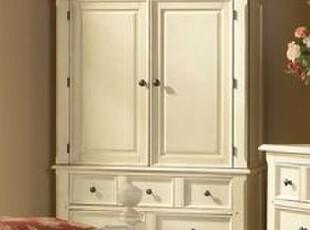 林木工坊 两门衣柜 实木家具定制 品牌家具 实木衣橱 实木大衣柜,收纳柜,
