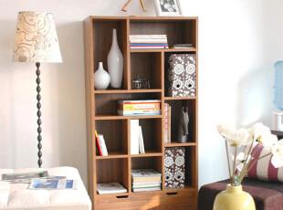 专业定做 现代简约 北欧风情 书柜 书橱 书架 隔厅柜陈列柜SG-031,收纳柜,