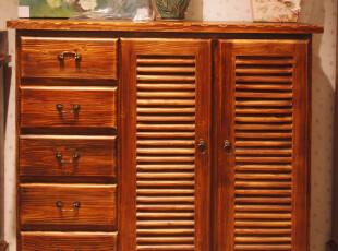 树之语LMTY 碳烤系列 百分百全实木 欧式 鞋柜 mqf08-wg02a,收纳柜,