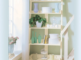 【天猫原创】奥汀堡欧式家具阿瑞斯 美式梯形收纳架AT8759 X,收纳柜,