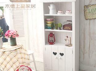 地中海风格客厅 实木装饰柜 白色烤漆高档 韩式田园小清新装饰柜,收纳柜,