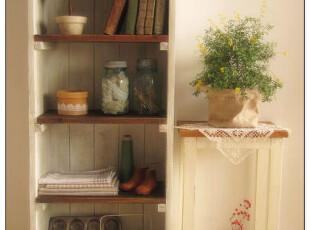 日单-古旧木质 四层收纳柜 实木柜 书柜 zakka日式杂货,收纳柜,