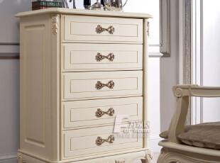 为家居 法式家具 卧室家具 欧式田园家具 五斗柜,收纳柜,