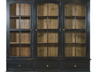 ZOLA HOME 田园地中海 比邻乡村 美克美家 落基山书柜,收纳柜,