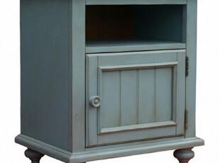 ZOLA HOME 地中海美式乡村 实木家具比邻乡村 普林斯特实木床头柜,收纳柜,