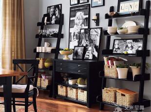 艾米尼奥家具地中海风格书房系列精致实木家具书柜杂志架Y0443,收纳柜,