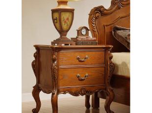 欧式家具 实木床头柜 美式乡村家具 美式床头柜 特价家具,收纳柜,