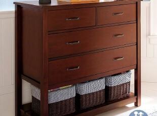 艾伦艾妮安德鲁 斗柜 四斗柜 储物柜 实木抽屉柜 储藏柜 美式家具,收纳柜,