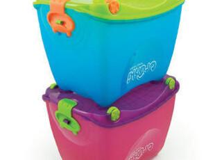 英国Trunki儿童行李箱/玩具收纳箱 储物箱 旅行工具箱 粉/蓝2色,收纳箱,