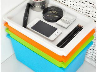 默默爱♥韩版家居 收纳箱 时尚简约塑料储物箱 整理箱 收纳盒有盖,收纳箱,
