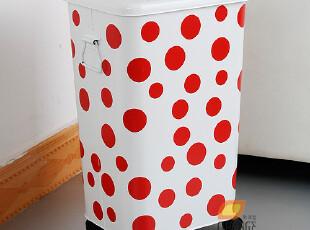 大号26升脏衣服收纳桶 脏衣服收纳筐篮 收纳箱有盖 厕所垃圾桶,收纳箱,