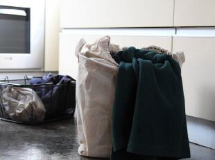包邮日式加厚帆布桶/杂物箱/收纳筐/收纳箱/脏衣篓/整理箱*收口,收纳箱,