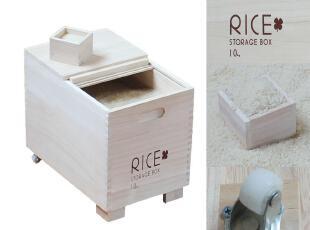 实木桐木米箱 防虫 防潮 保鲜米箱 五谷杂粮收纳箱,收纳箱,