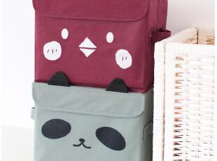 默默爱♥可爱 立体卡通动物 可折叠 有盖收纳盒/收纳箱/整理箱,收纳箱,