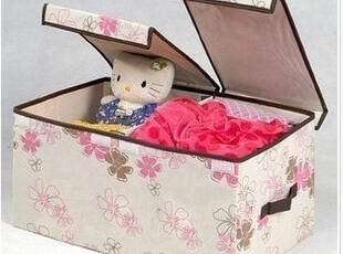 韩版毛衣收纳箱紫荆花  置物桶/收纳盒/整理箱/双盖收纳箱,收纳箱,