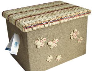 【天作之盒】 本色经典 麻布草编收纳箱 整理箱 满百包邮,收纳箱,