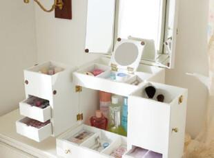多功能手提化妆箱 化妆品收纳箱 首饰收纳箱,收纳箱,