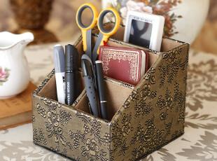 西雅路 收纳盒办公桌储物盒宜家纸盒收纳箱桌面遥控器盒大号抽屉,收纳箱,
