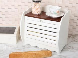 韩国代购厨房食品收纳盒木质收纳箱储物箱,收纳箱,
