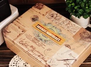 推荐〓潘多拉盒子 高档龟裂 格子收纳盒箱 桌面整理马口半岛铁盒,收纳箱,