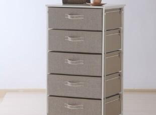 「自然旋律」五层衣服收纳柜抽屉柜床头柜储物柜收纳箱,收纳箱,