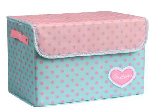 柠檬家居 星女郎 布艺日式巧纳箱/衣物收纳箱 有盖整理箱 储物箱,收纳箱,