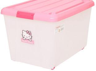 日本爱丽思IRIS直销 HELLOKITTY大容量收纳箱KCC-550,收纳箱,
