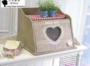 ★公主梦想★韩国家居*BREAD BOX*自然风尚*食品收纳箱 M731,收纳箱,