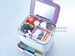 日本进口 化妆品收纳箱 塑料 化妆包 化妆箱 大容量 化妆收纳盒,收纳箱,
