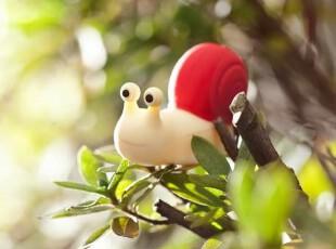 正品授权台湾bone Snail Driver蜗牛造型 8G卡通U盘 创意优盘,数码周边,