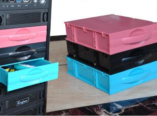 电脑机箱抽屉DVD光驱式多功能收纳盒储物盒机箱伴侣抽拉式储物盒,数码周边,