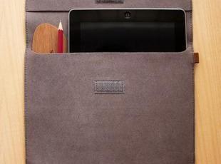 彩色皮革系列包袋-ipad包深灰,数码周边,