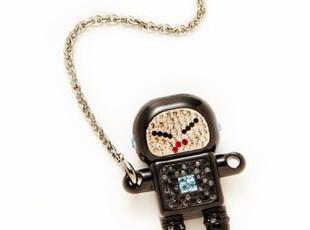 美国代购 Swarovski施华洛世奇水晶黑色机器人U盘USB,数码周边,
