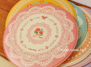 zaa杂啊 遇见你-超美公主蕾丝鼠标垫 韩国可爱插画大圆鼠标垫,数码周边,