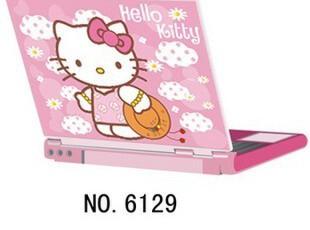 Hello Kitty 笔记本炫彩贴 迷你卡通贴纸 防撞、防刮保护膜,数码周边,