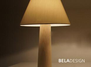 本来设计BELADESIGN 床头灯 创意台灯 白蜡木 木头台灯可调光,数码周边,