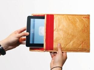 英国Luckies 绝密信封平板电脑包/IPAD包 创意礼物 包邮,数码周边,